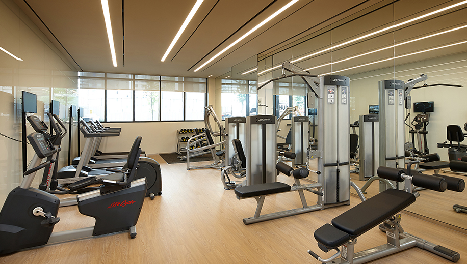 <br>Fitness Center<br><p>Fitness Center View</p>